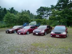 K.S.K FAMILY車輌 今回は、よっちゃんの 30セルシオも一緒に!!