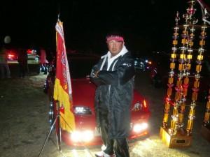 ●富岡さん  ●カルディナ  ●東西王座 チャンピオン  今回、スタワゴのイベントから  5日間でオールペン致しました!!  真っ赤な『 赤 鬼 』復活ですっ?(◎o◎)/!