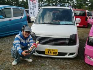 有田くんワゴンR部門7位